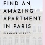 how to find an apartment in paris