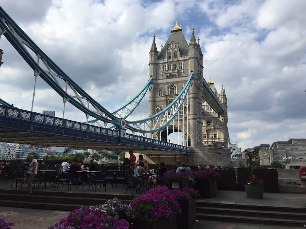 thames path - tower bridge