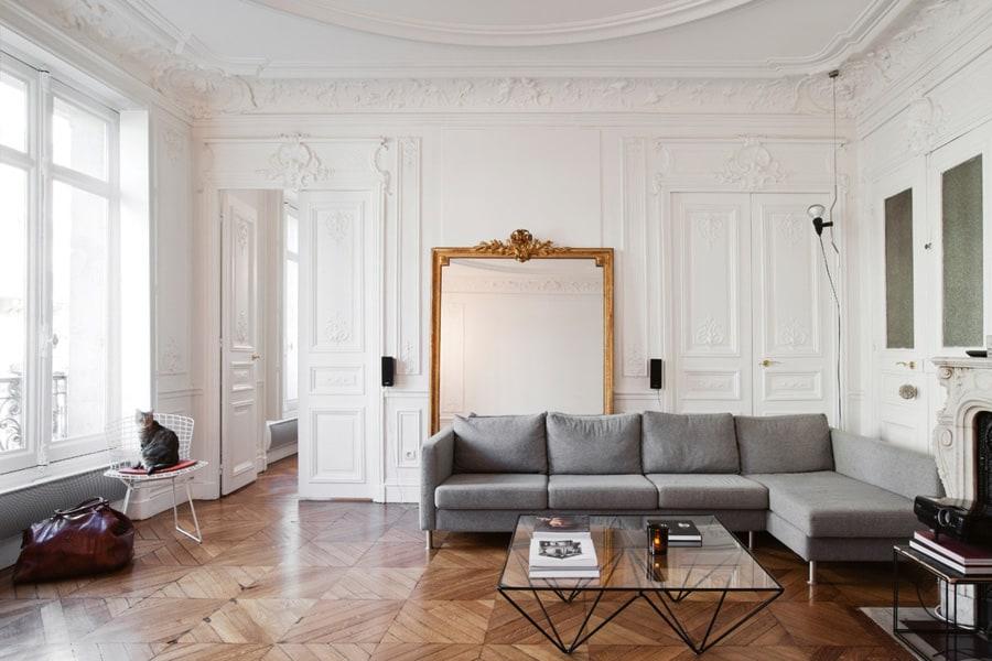 paris apartment style