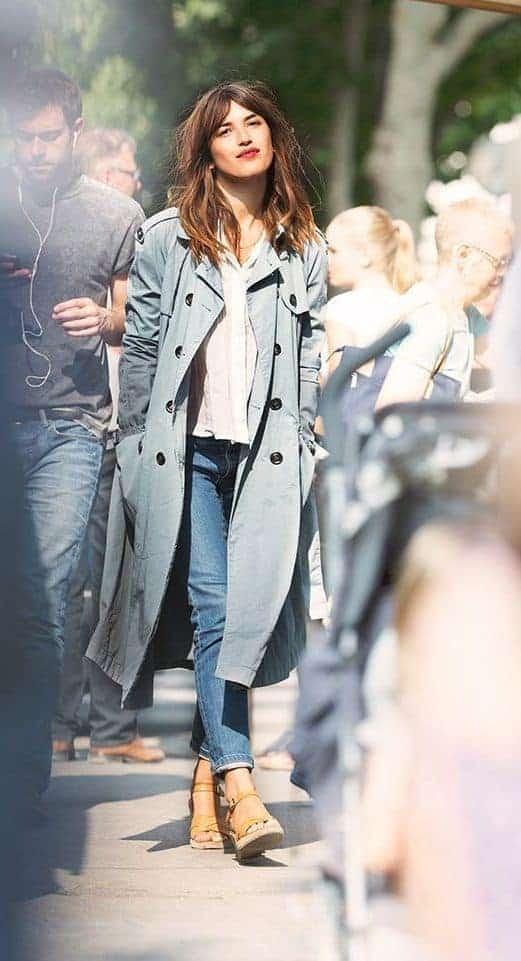 jeanne damas trench coat
