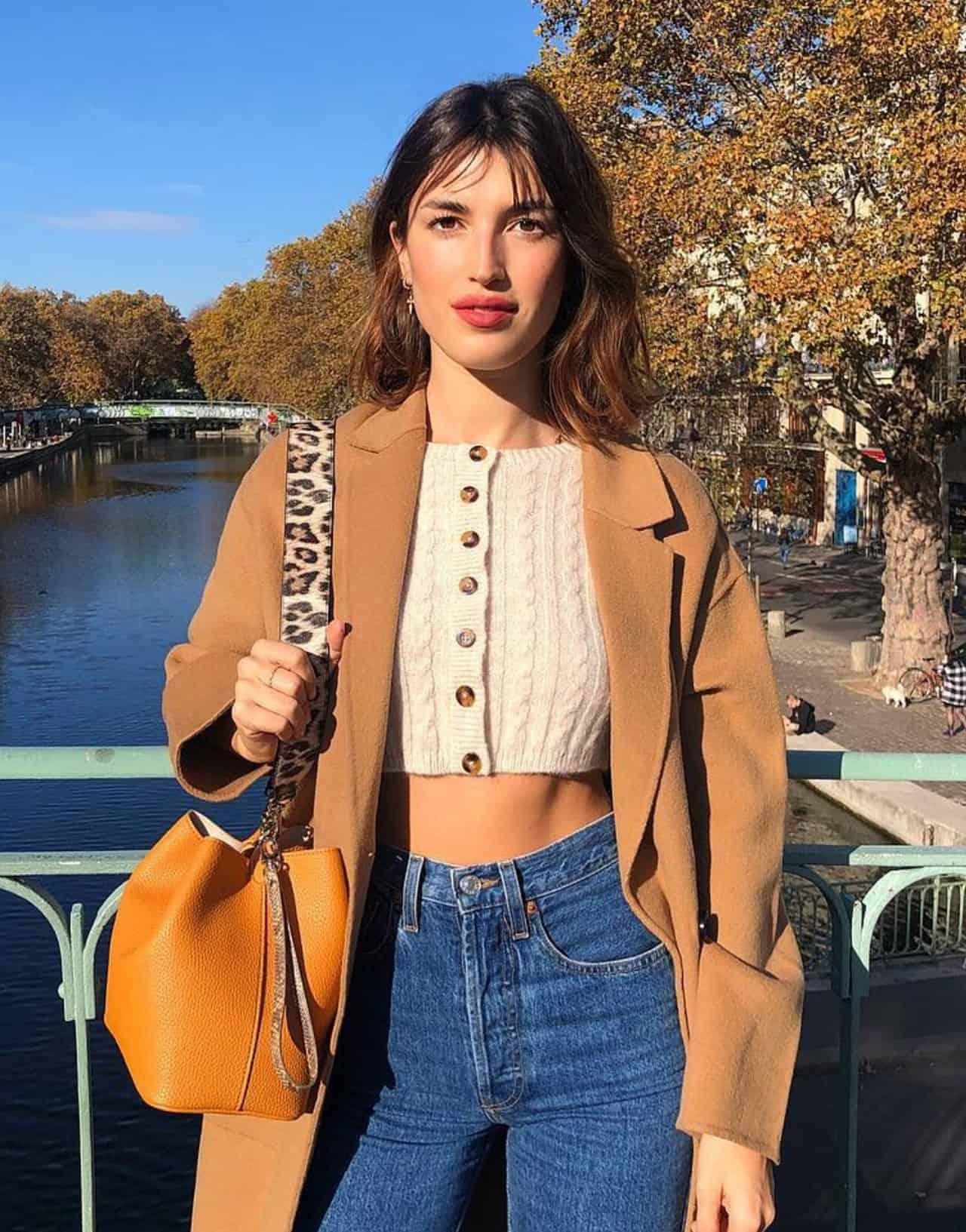 jeanne damas cropped sweater