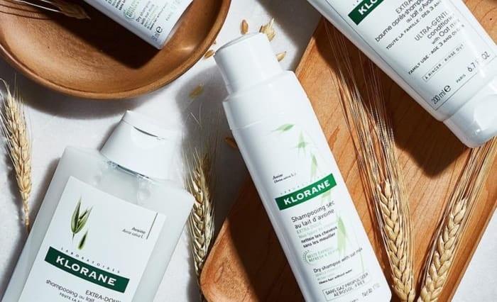klorane dry shampoo french girl hair