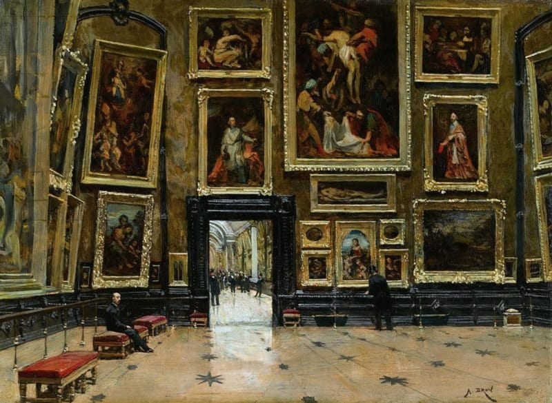 salle carre louvre