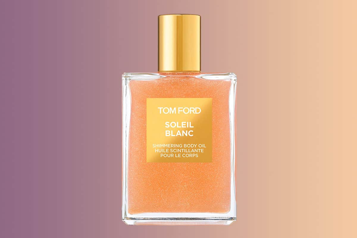 Tom Ford Shimmering Body Oil Review Faraway Places