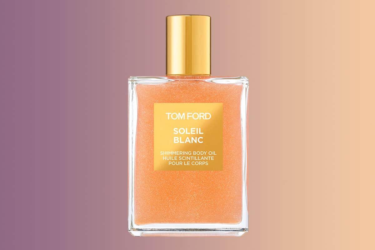 Tom Ford shimmering body oil review