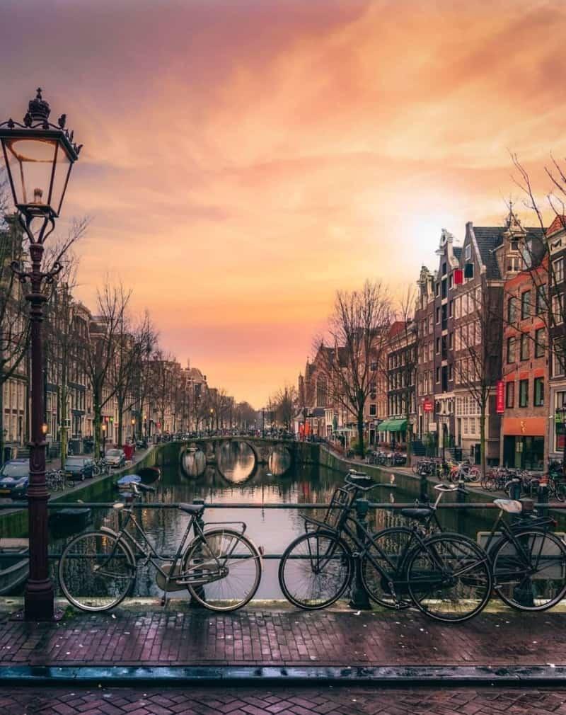 international day trips from paris - amsterdam