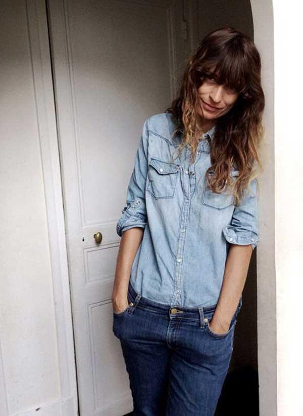 caroline de maigret jeans