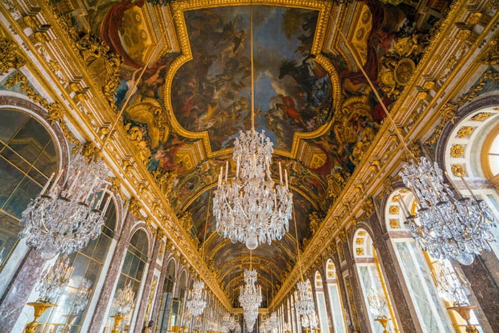 versailles four day paris itinerary