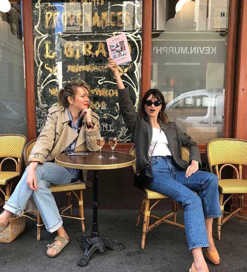 jeanne damas sunglasses cafe