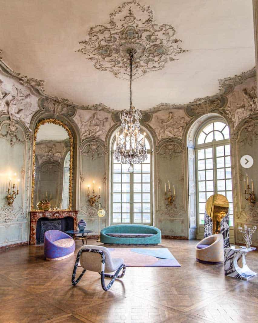 paris apartment interiors soubise