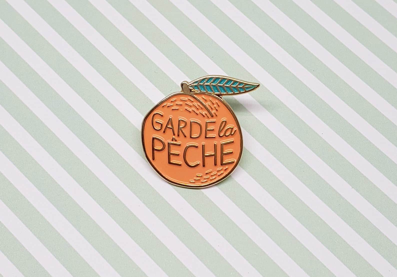 french gifts on etsy - french enamel pin