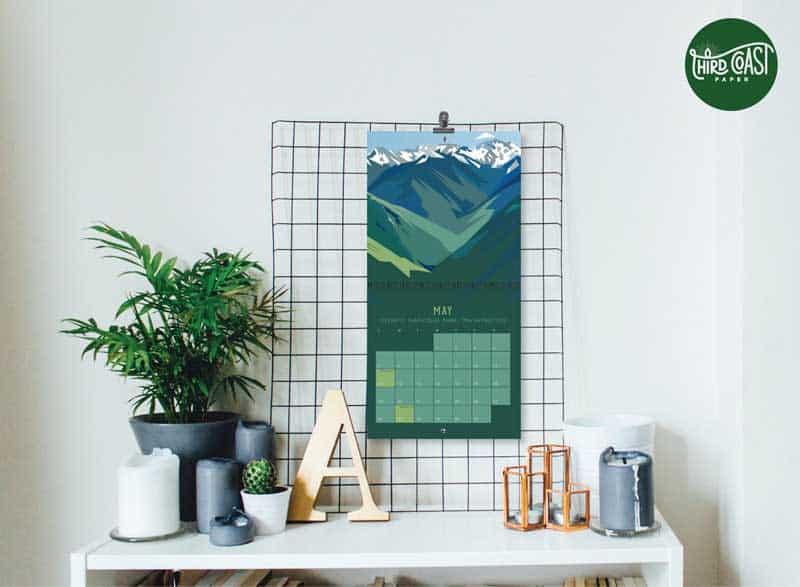 best wall art calendar etsy